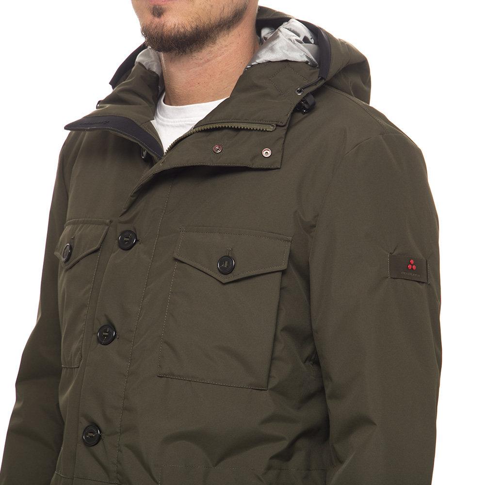 cheaper 01fc6 e6ebe Giaccone uomo Peuterey, verde militare - Boutique Capispalla - Acquista su  Ventis.