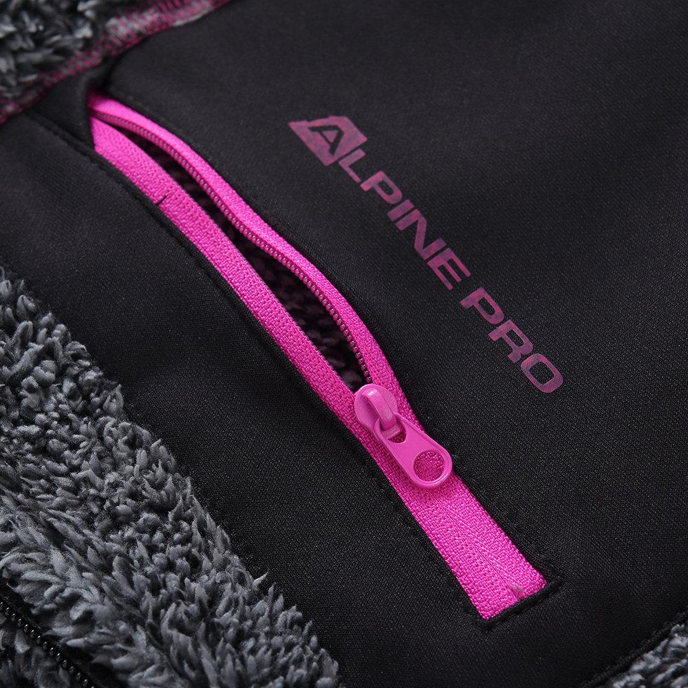 Felpa termica grigia ALPINE PRO Acquista su Ventis.