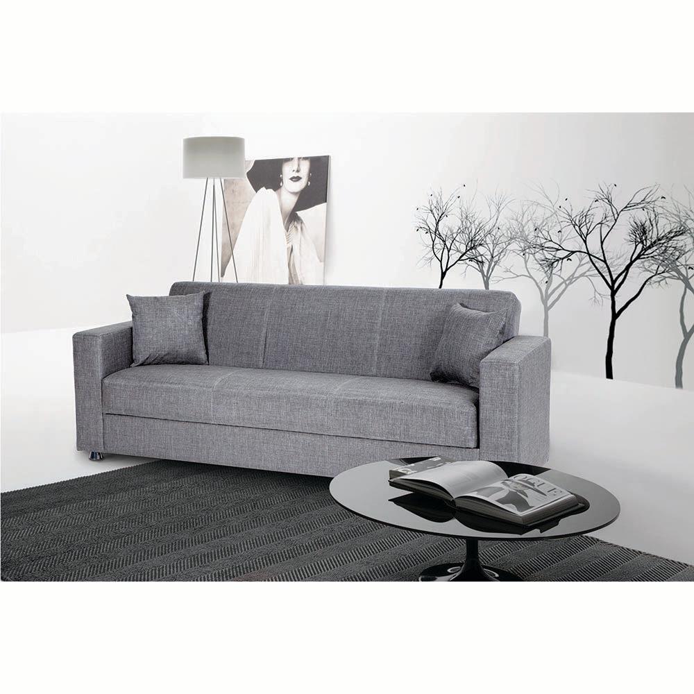 Divano letto verona in tessuto grigio facondini divani acquista su ventis - Divano letto verona ...