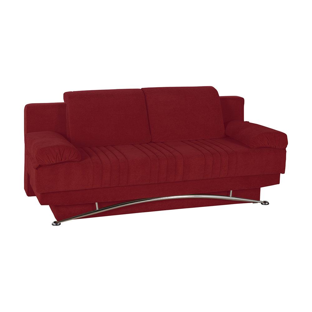 Divano letto Arcobaleno, rosso - Facondini divani - Acquista su Ventis.