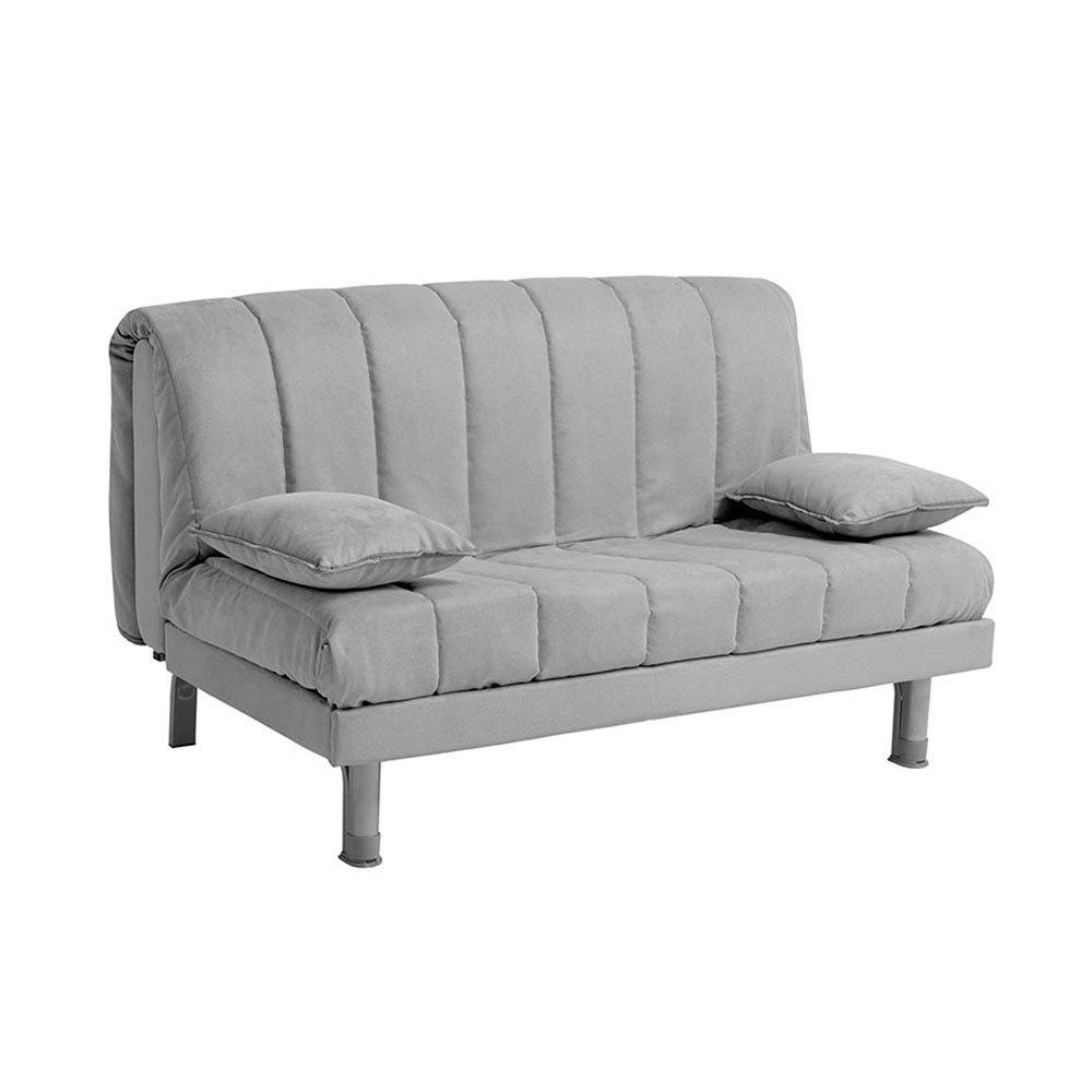 Divano letto Aron 140 antimacchia, grigio - Facondini divani ...