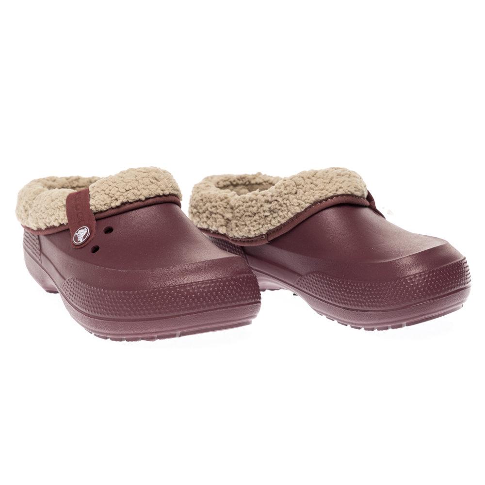 on sale 45ac6 e4706 Sabot Crocs Blitzen II unisex, bordeaux e crema - Crocs - Acquista su  Ventis.