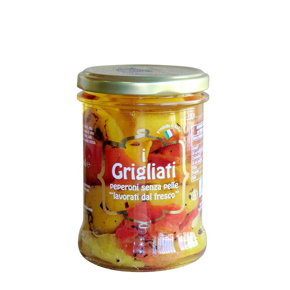 6 vasetti misti: I Grigliati - Le Melanzane - I Pomodori Secchi - Le Maggioline - Le Belle di Cerignola - Gli Spaccatelli della Nonna