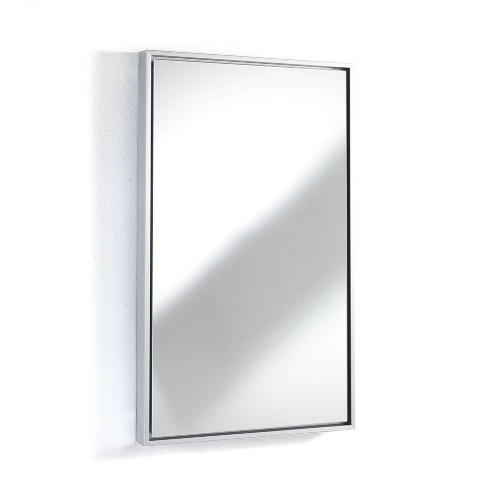 Specchio da parete lely 45x75 modern bath acquista su for Specchio semplice da parete