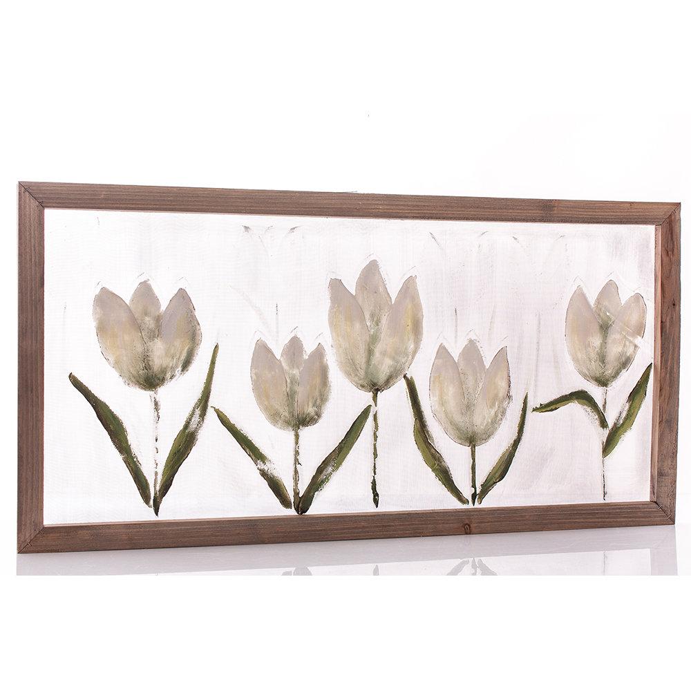Quadro con tulipani - Chic e Country - Acquista su Ventis.