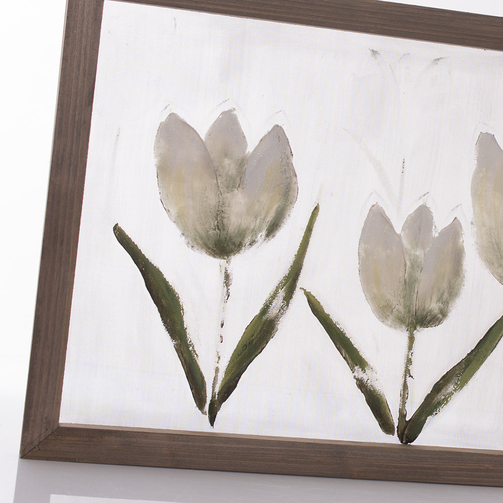 Quadro con tulipani - Chic e Country - Acquista su Ventis.