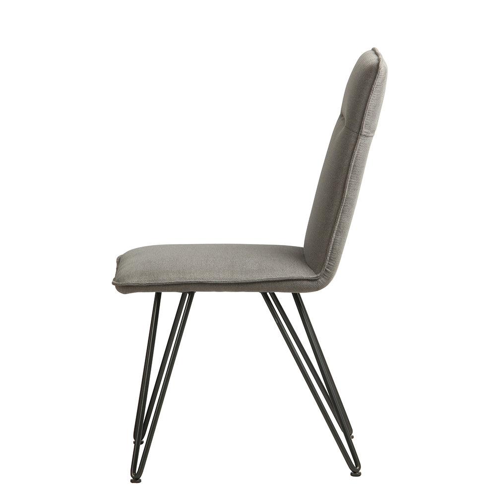 Set 4 sedie elice grigio chiaro stones arredamento for Sedie design twist