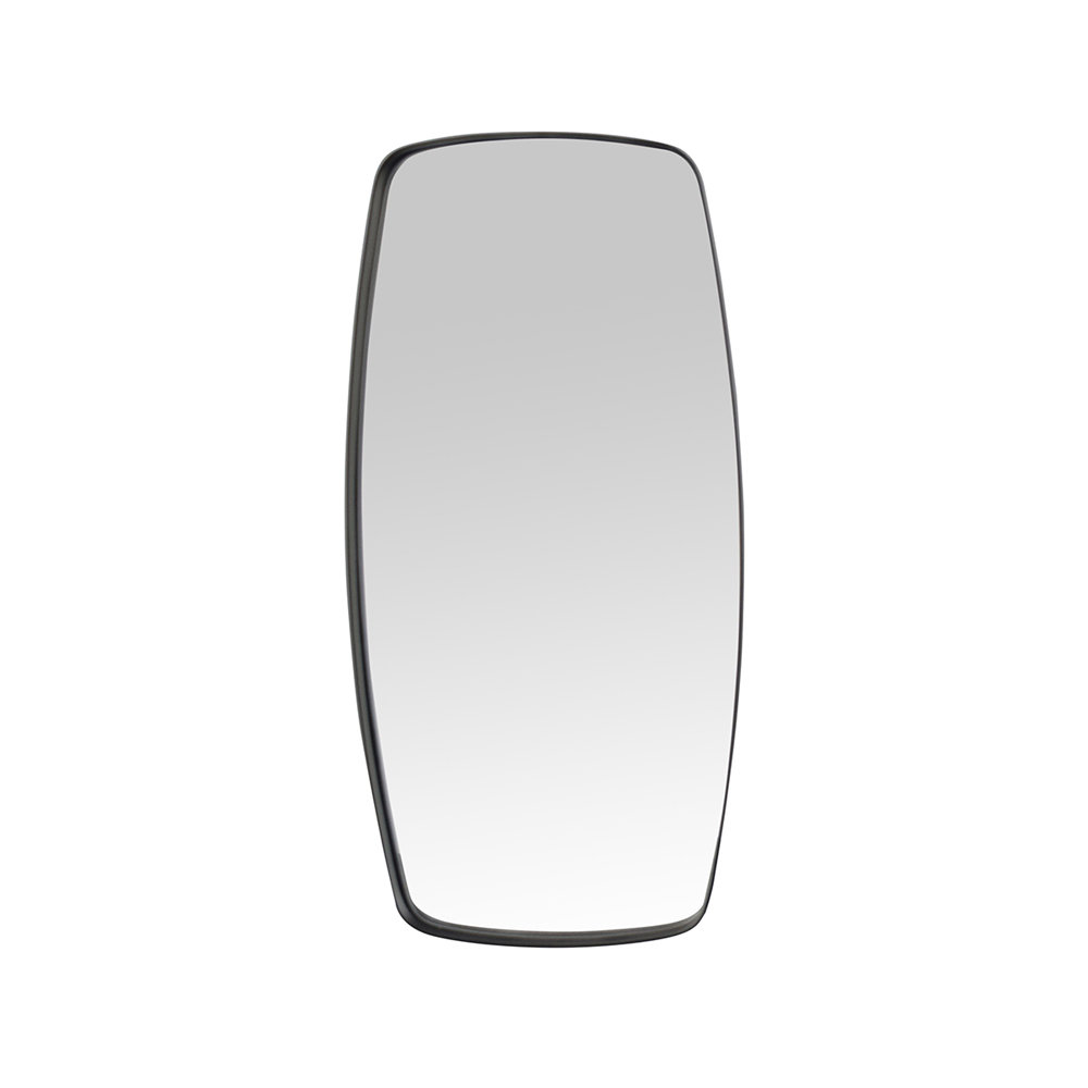 Specchio bern con cornice nera stones arredamento acquista su ventis - Specchio cornice nera ...