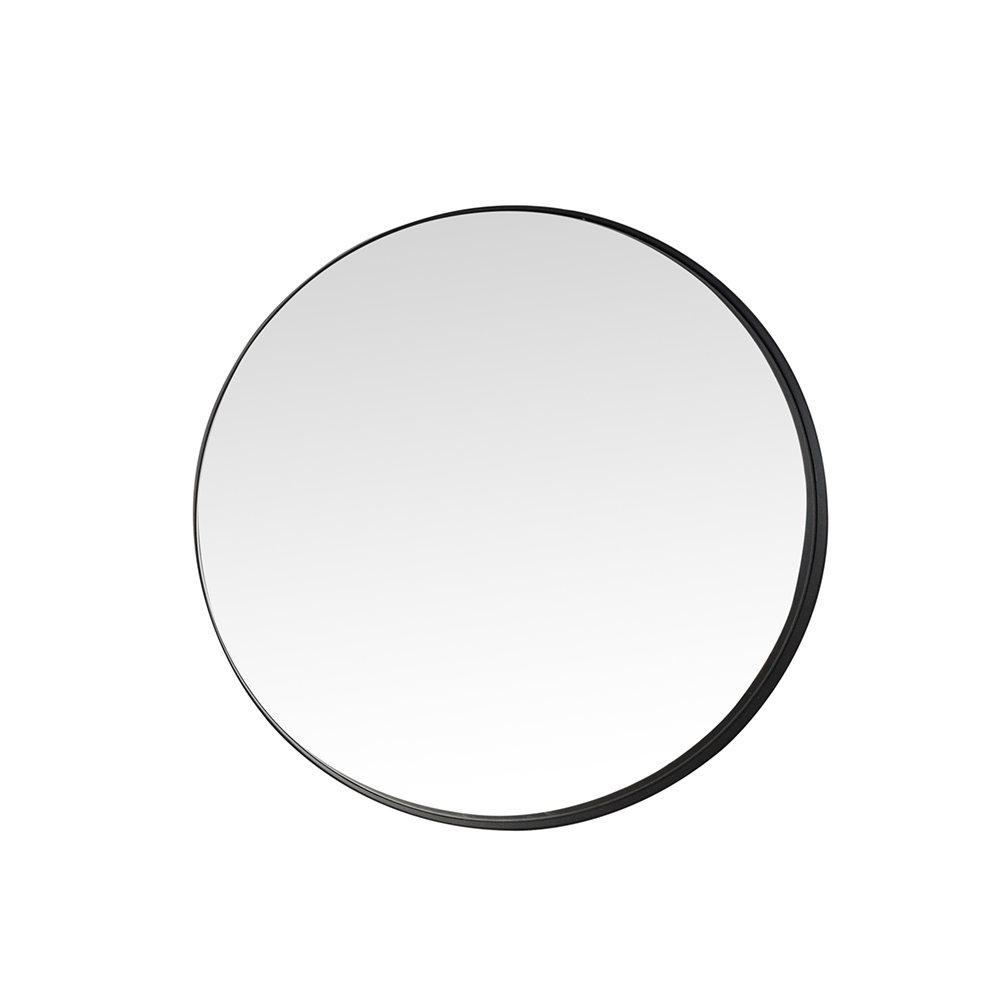 Stones arredamento specchio jenin con cornice nera - Specchio cornice nera ...