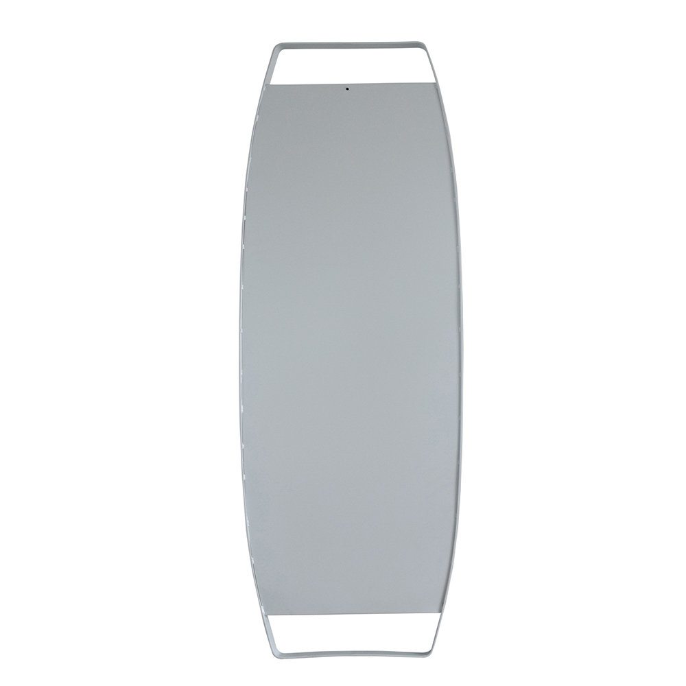 Specchio dalvik con cornice bianca stones arredamento - Specchio cornice bianca ...