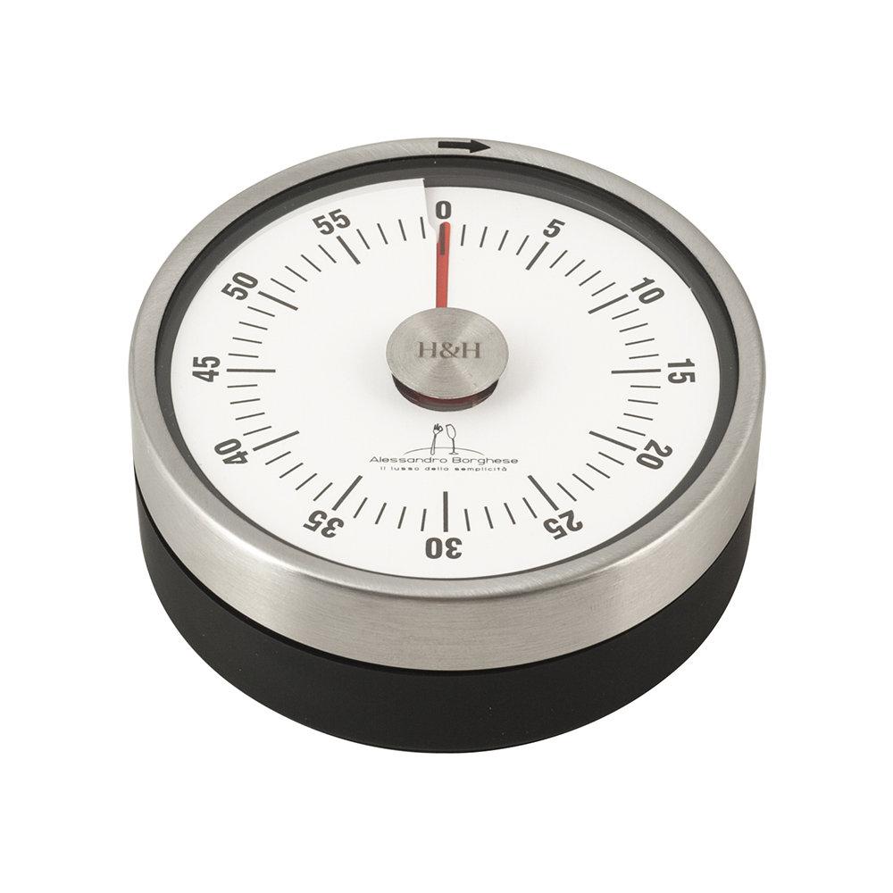 Set 2 pz pinza da cucina inox timer in acciaio borghese - Timer da cucina ...