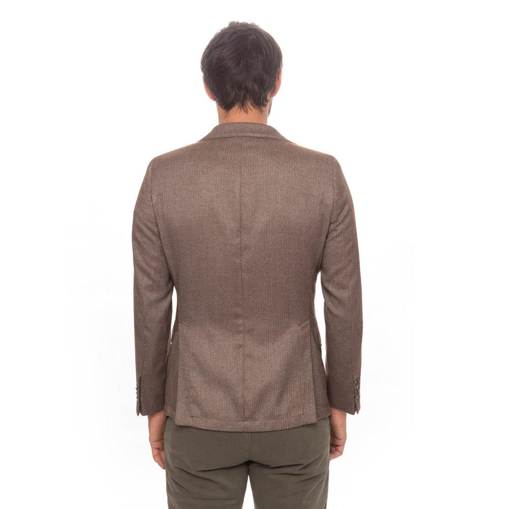 nuovo prodotto 0fbd1 4425d Giacca spigata marrone chiaro - Liu Jo Uomo A/I - Acquista su Ventis.