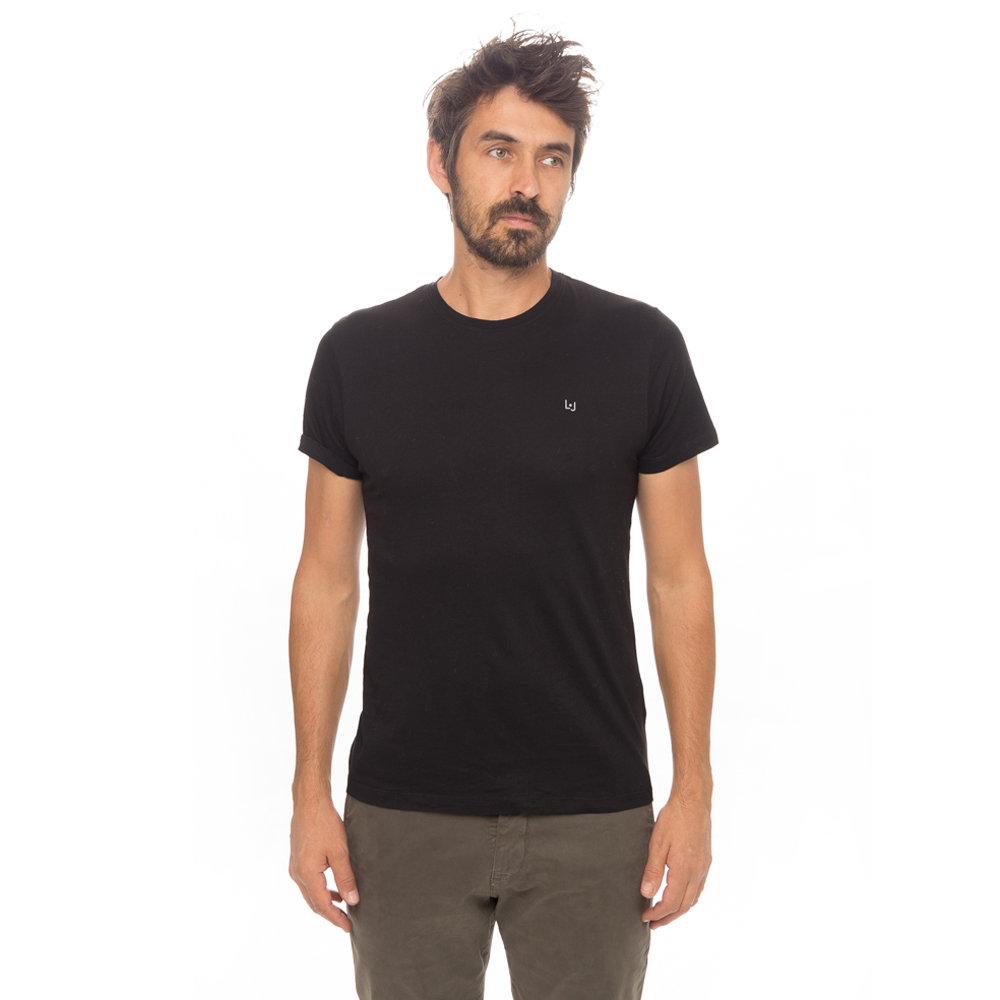 brand new a8d8d 0c12a T-shirt basic girocollo nera - Liu Jo Uomo A/I - Acquista su Ventis.