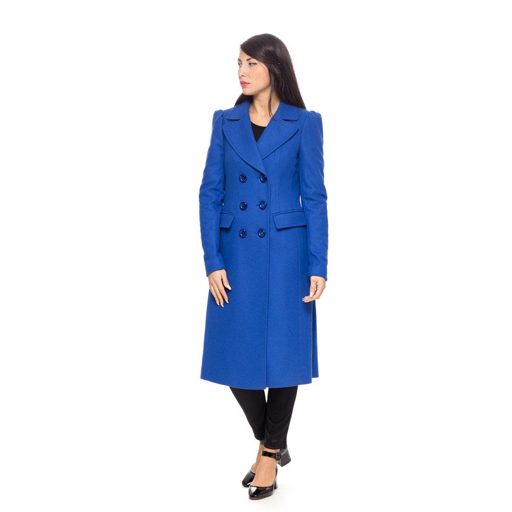 Cappotto lungo blu elettrico - Liu Jo Donna A I - Acquista su Ventis. 9ea11c60806