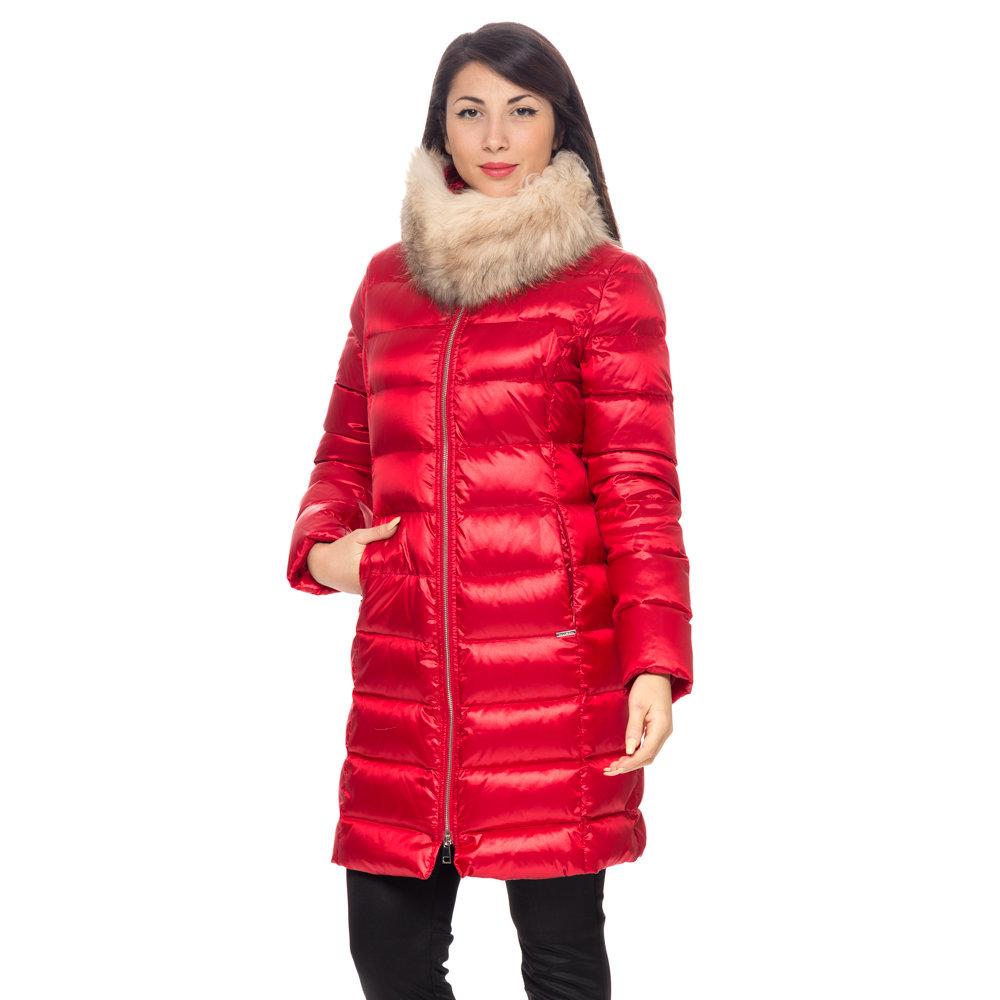 sale retailer 45b85 979a3 Piumino lungo rosso - Liu Jo Donna A/I - Acquista su Ventis.