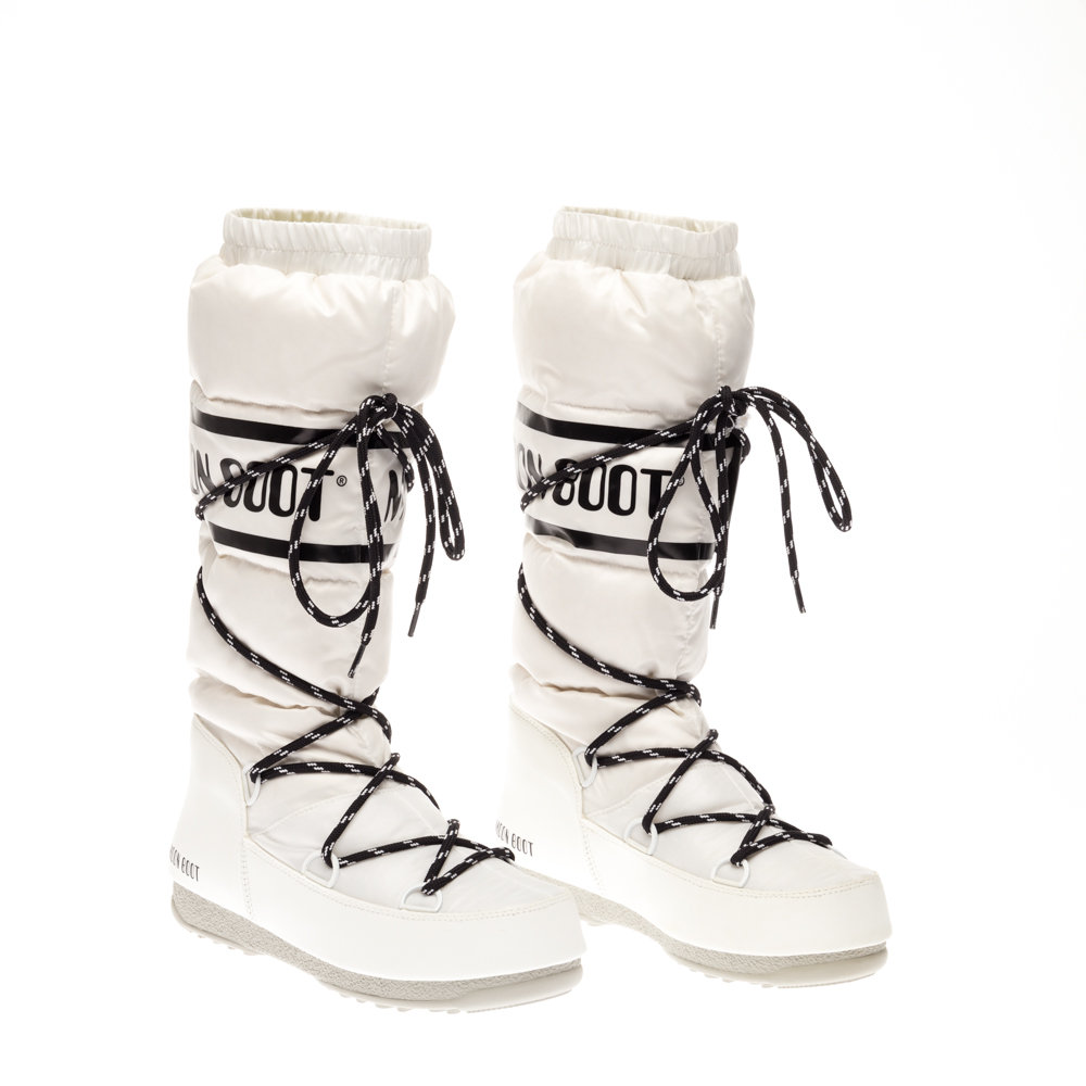 new product eb2a4 516f6 Moon Boot We Duvet bianco - Moon Boot - Acquista su Ventis.