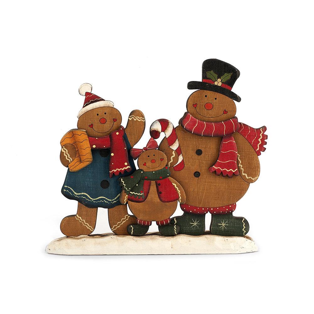 Figure Di Natale In Legno Christmas Table Acquista Su Ventis