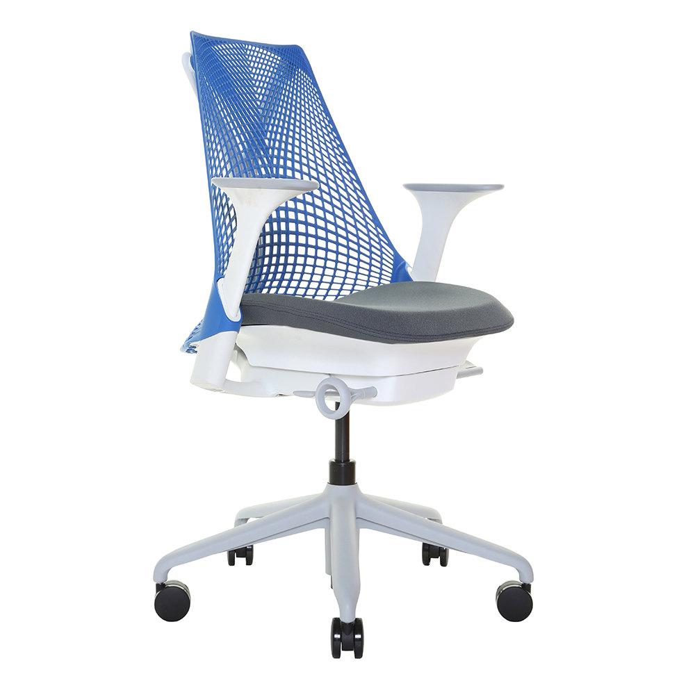 Seduta ufficio sayl blu arte e design acquista su ventis for Ufficio blu