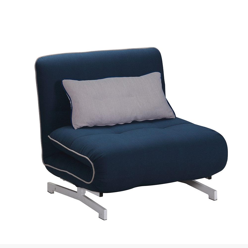 Poltrona letto roger blu grigio comfort pratico cribel acquista su ventis - Poltrona letto city ...