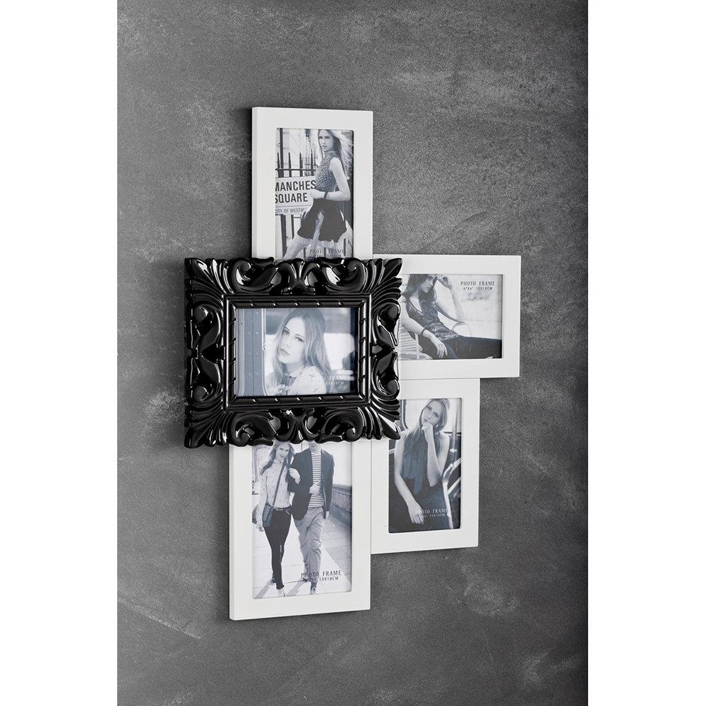 Portafoto da parete kaos bianco tomasucci black e white - Portafoto da parete ikea ...