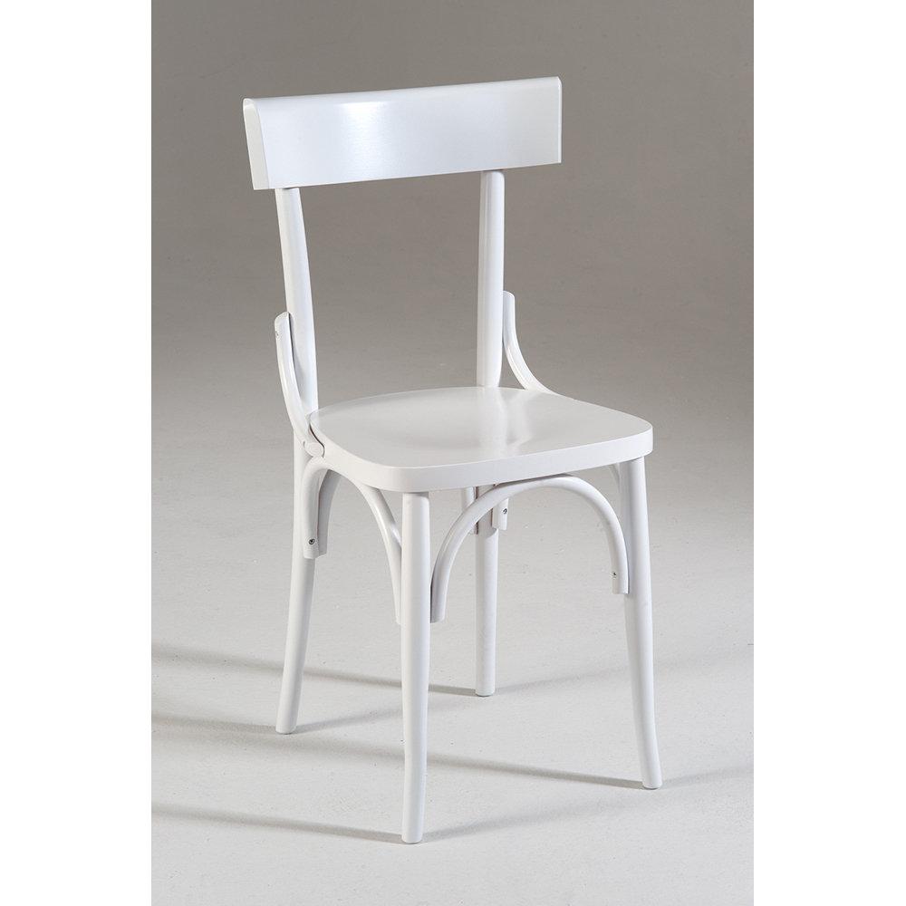 Sedia MILANO, bianco - Castagnetti Shabby - Acquista su Ventis.
