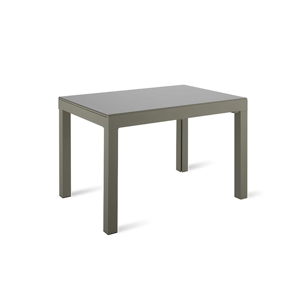 Tavolo allungabile jeddah grigio design twist home for Tavolo allungabile grigio