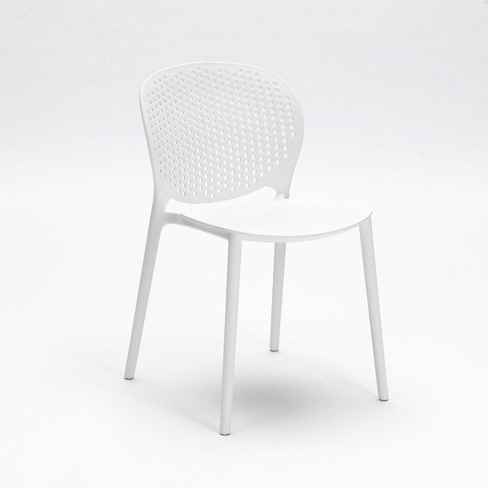 Set 4 sedie gavle bianco design twist home acquista for Sedie design twist