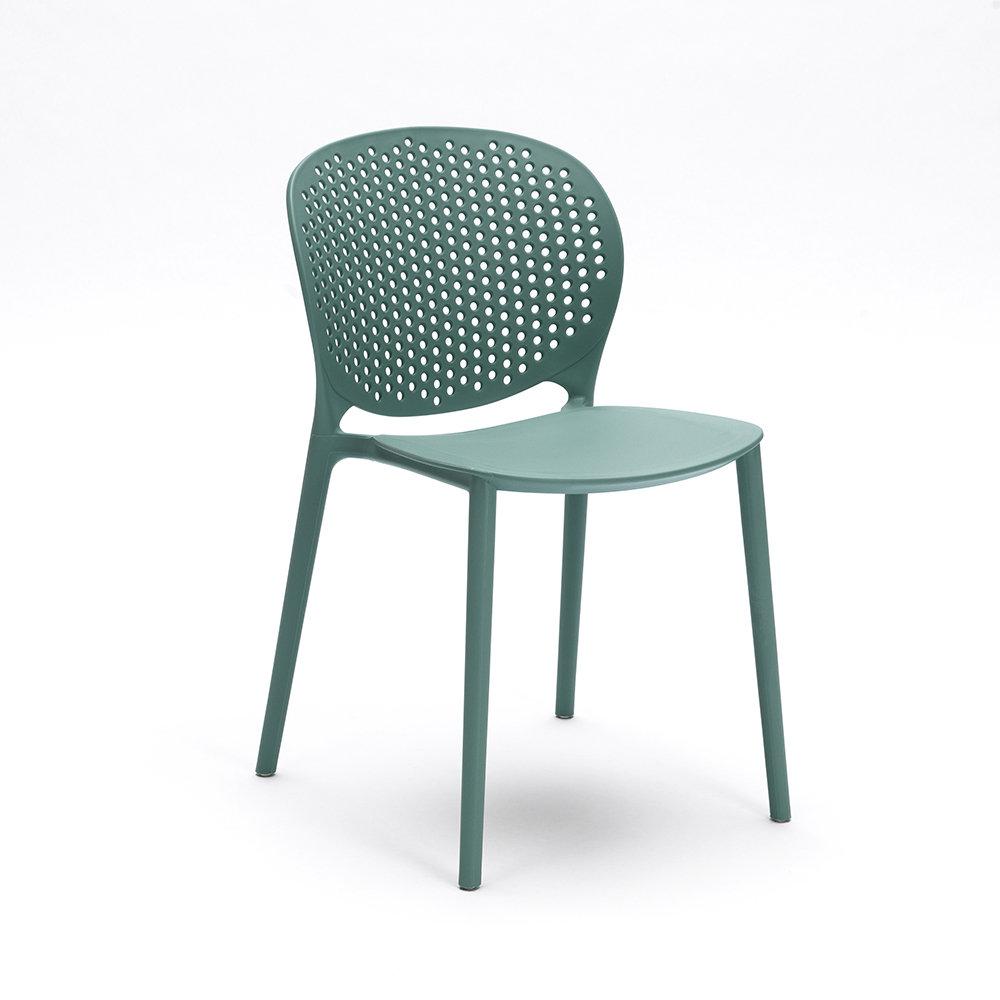 Set 4 sedie gavle celeste design twist home acquista for Design twist sedie