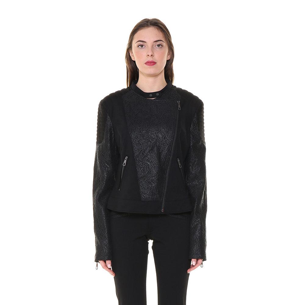 huge discount e3519 4ab46 Giacca nera con zip - Guess - Acquista su Ventis.