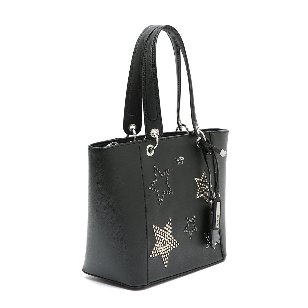 Shopping Bag Guess Acquista Ventis Su Con Nera Rigida Stelle Borse bf67yvIgmY