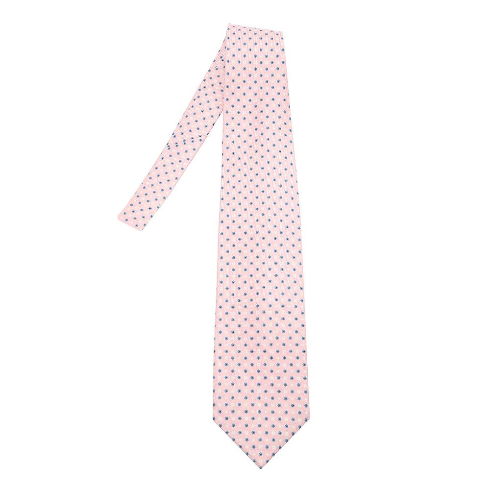 aliexpress come ordinare goditi la spedizione in omaggio Cravatta fantasia fiori rosa - Marinella - Acquista su Ventis.