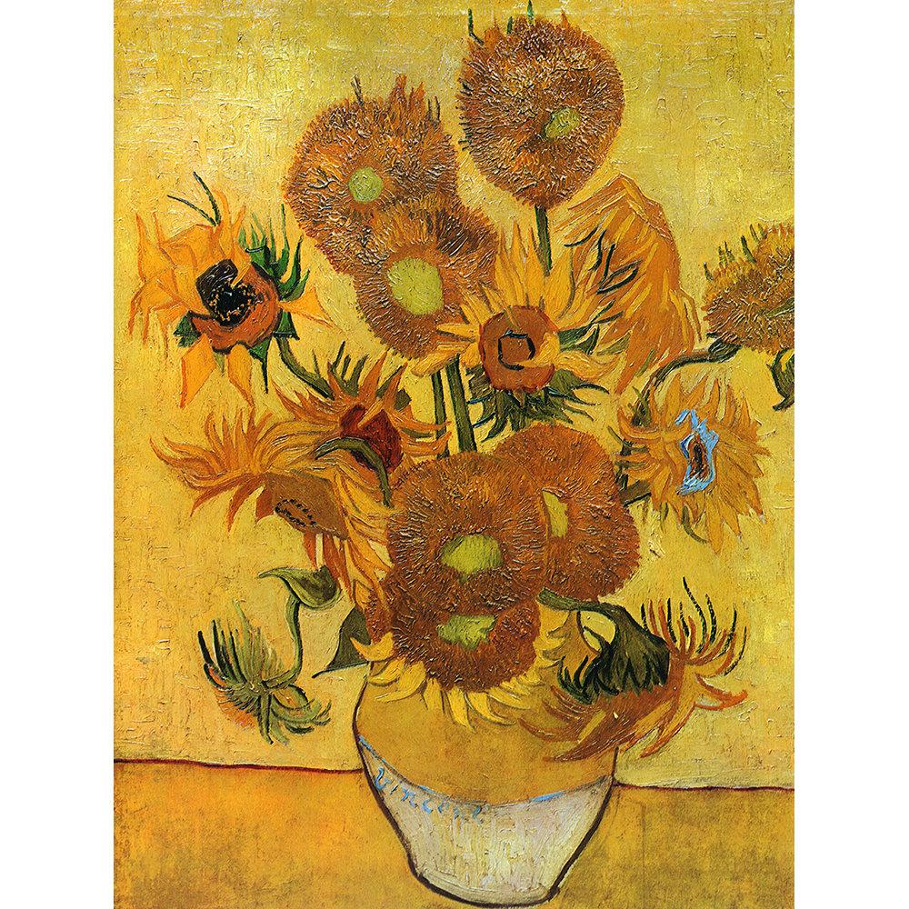 Matrimonio Girasoli Van Gogh : I girasoli stampa su tela van gogh legendarte