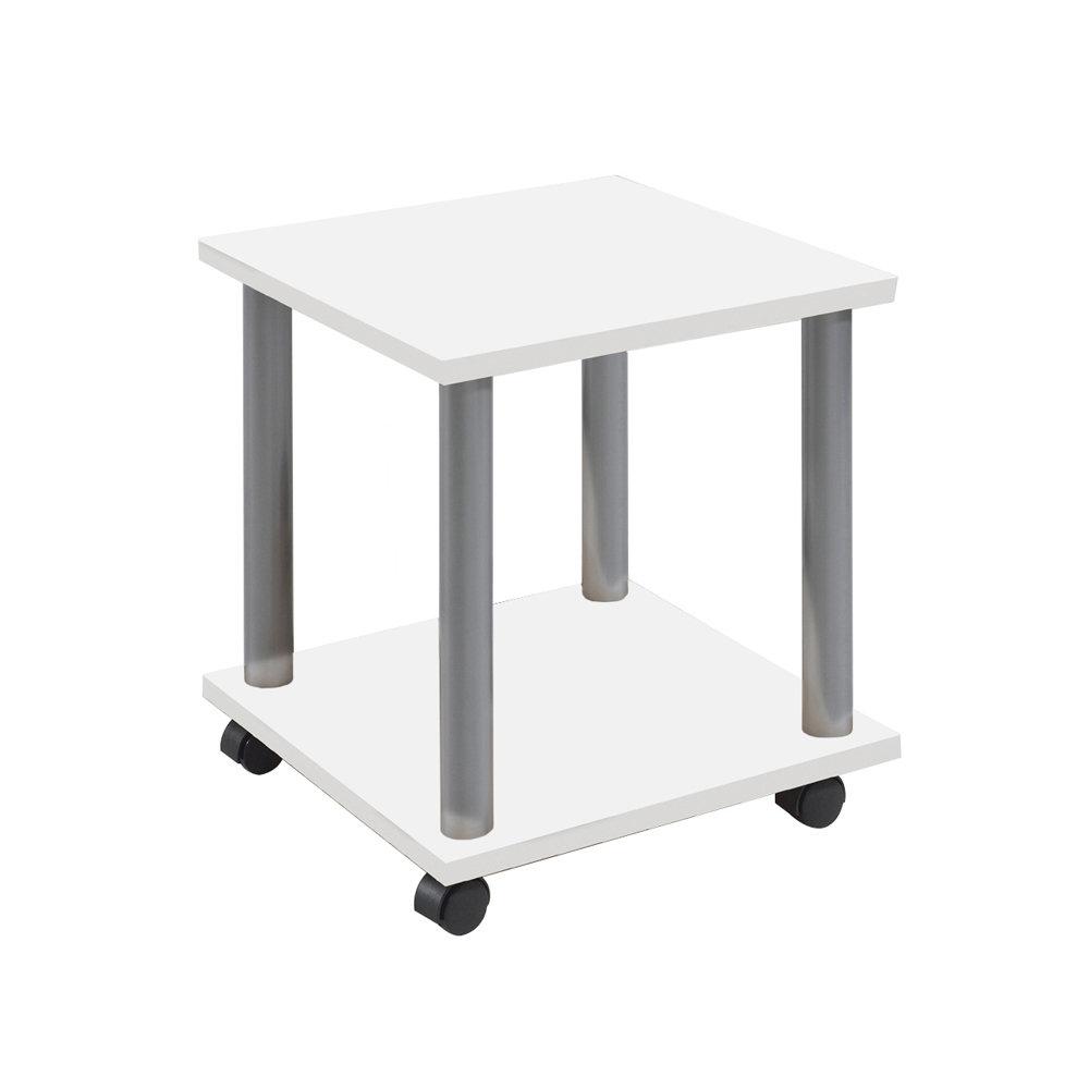 Tavolino Con Le Ruote.Tavolino Con Ruote Bianco 13 Casa Ufficio Acquista Su Ventis