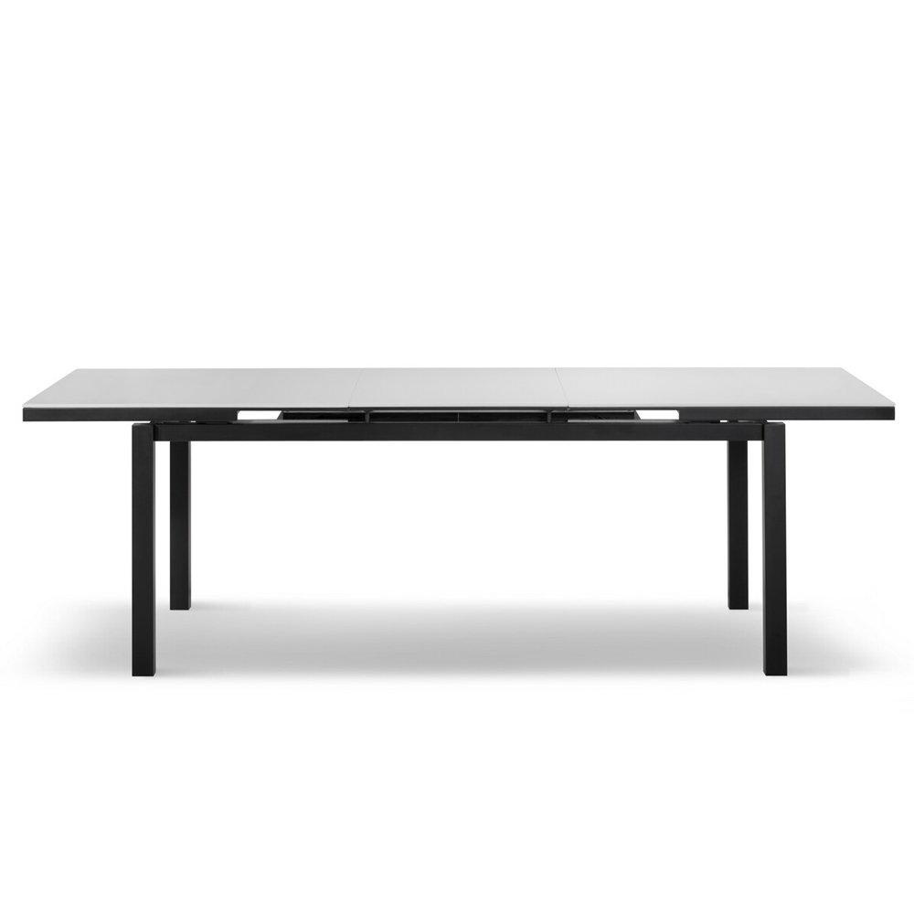 Tavolo tender bianco nero cribel contemporaneo - Tavolo contemporaneo ...