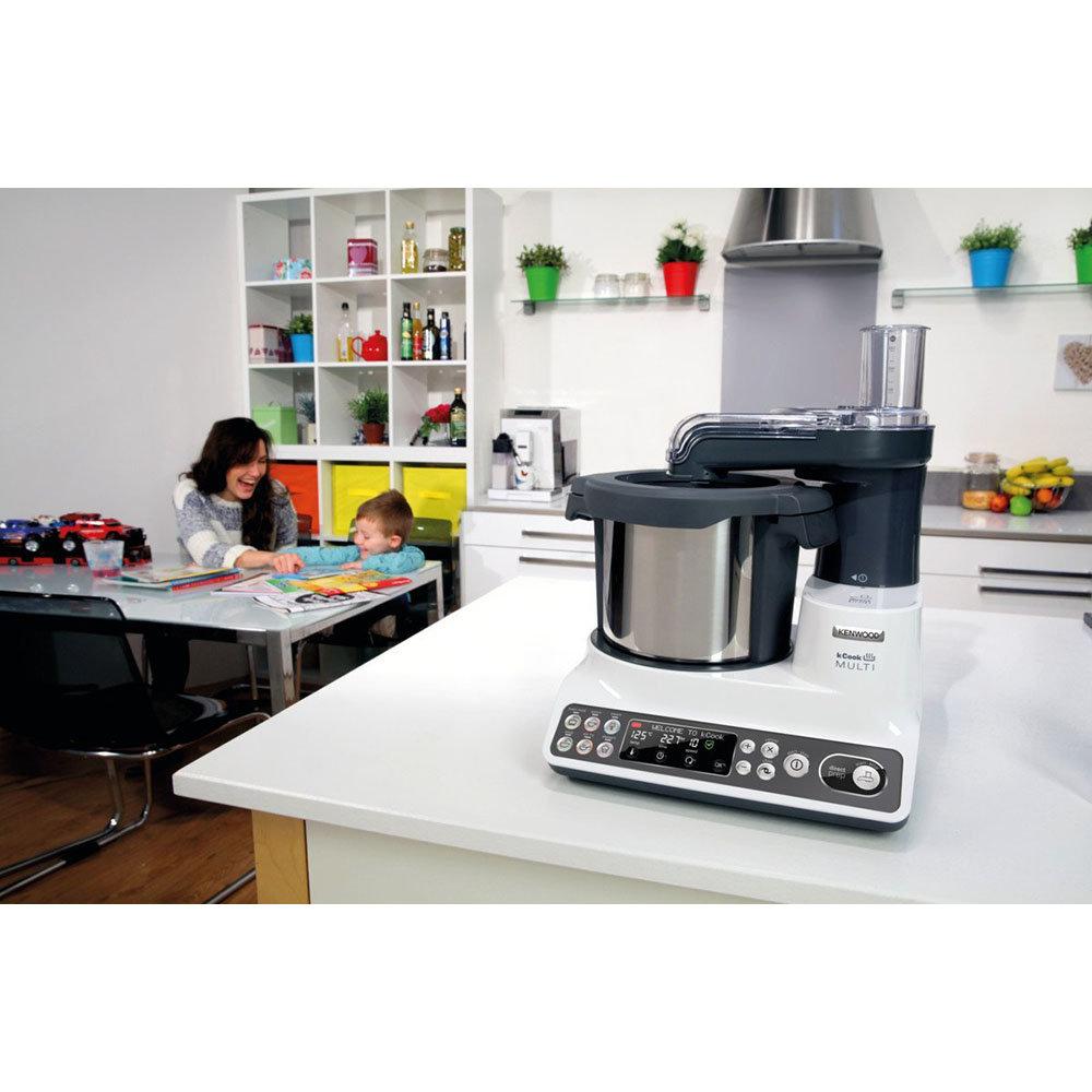 Robot da cucina funzione cottura ccl401wh kenwood kitchen acquista su ventis - Robot da cucina con cottura ...