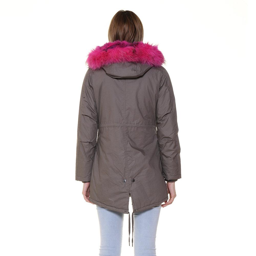 Parka da donna con pelliccia a contrasto grigio - Canadian - Acquista su  Ventis. 761e32062c2a