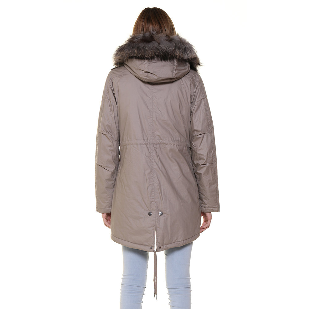 Parka Canadian da donna con pelliccia a contrasto grigio Canadian Acquista su Ventis.