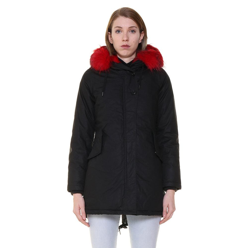promo code 1663a 80f13 Parka Canadian da donna con pelliccia a contrasto nero - Canadian -  Acquista su Ventis.