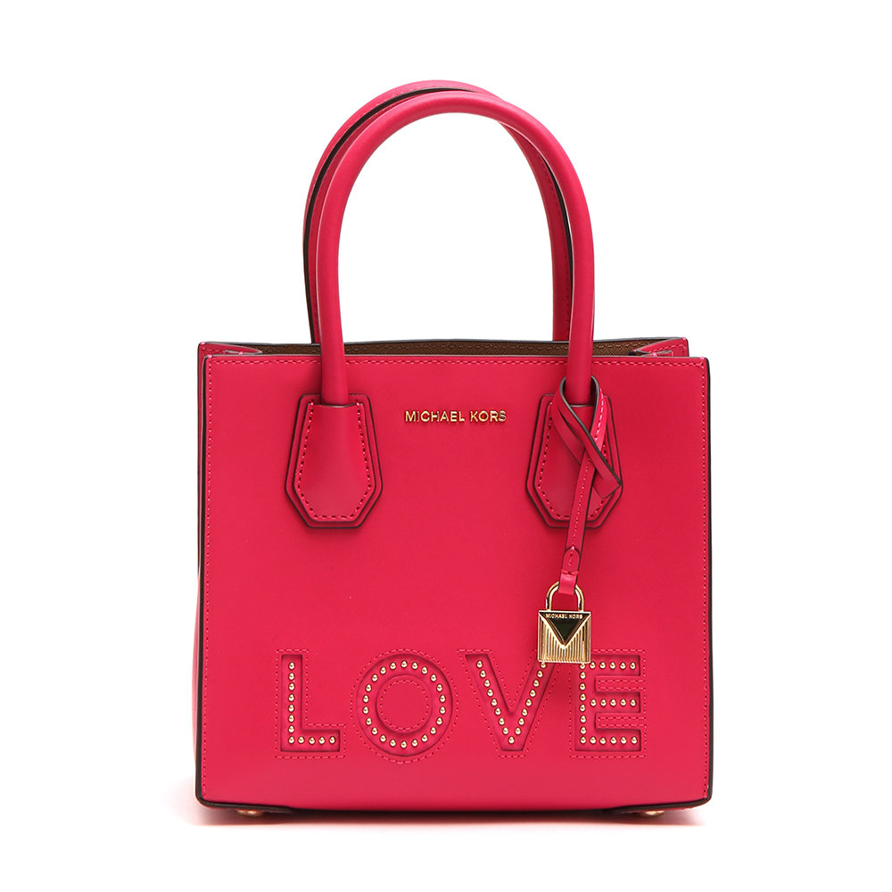 Borsa Mercer Love piccola in pelle fucsia - Michael Kors - Acquista ... b8f0f9f7a64