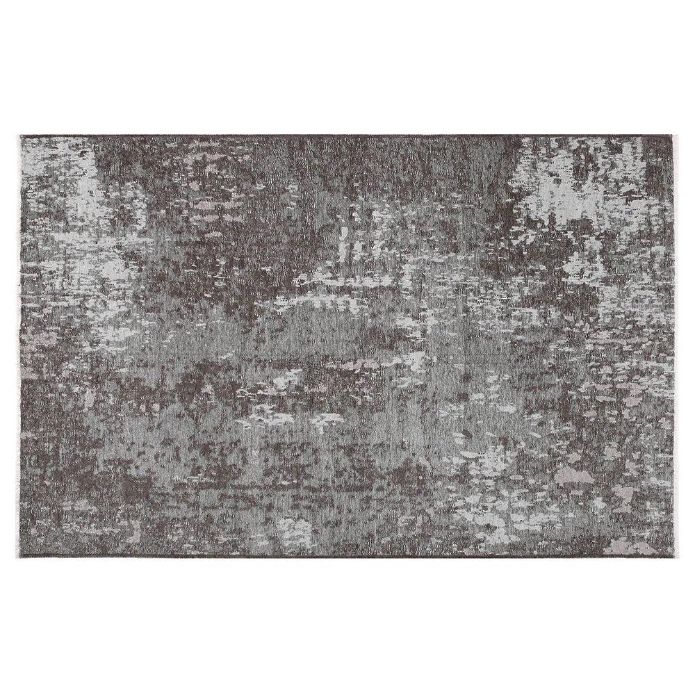 Tappeto Grigio : Tappeto reversibile grigio chiaro scuro