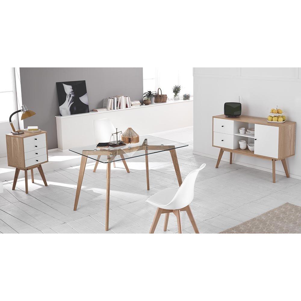 Set 4 sedie tom silver twist design mineral acquista for Design twist sedie