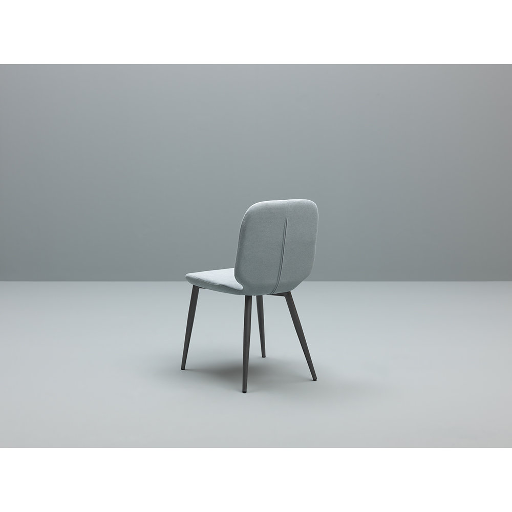 Set 4 sedie tabou grigio scuro menta twist design for Design twist sedie