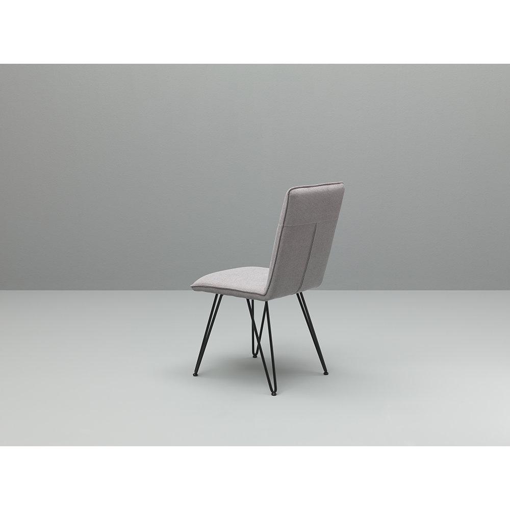 Set 4 sedie elice nero grigio chiaro twist design for Design twist sedie
