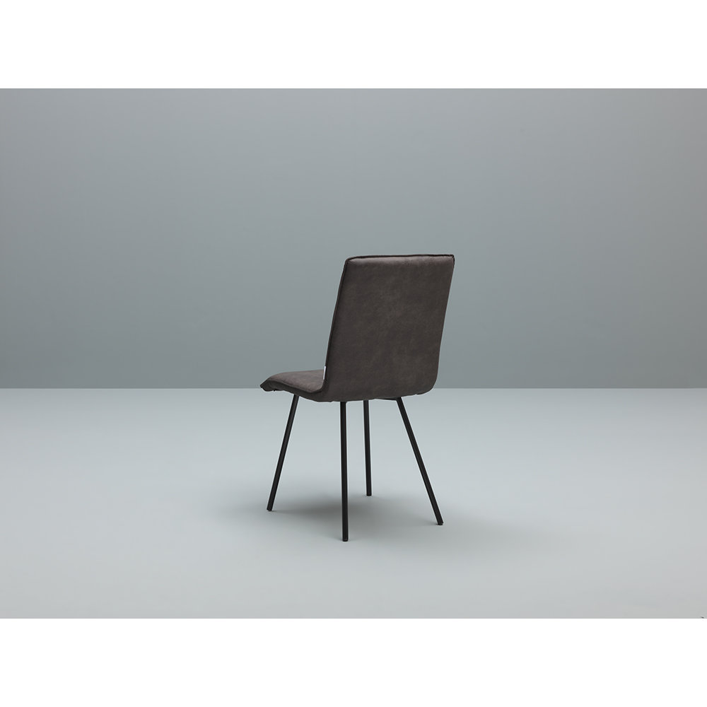 Set 4 sedie moen nero marrone twist design mineral for Design twist sedie