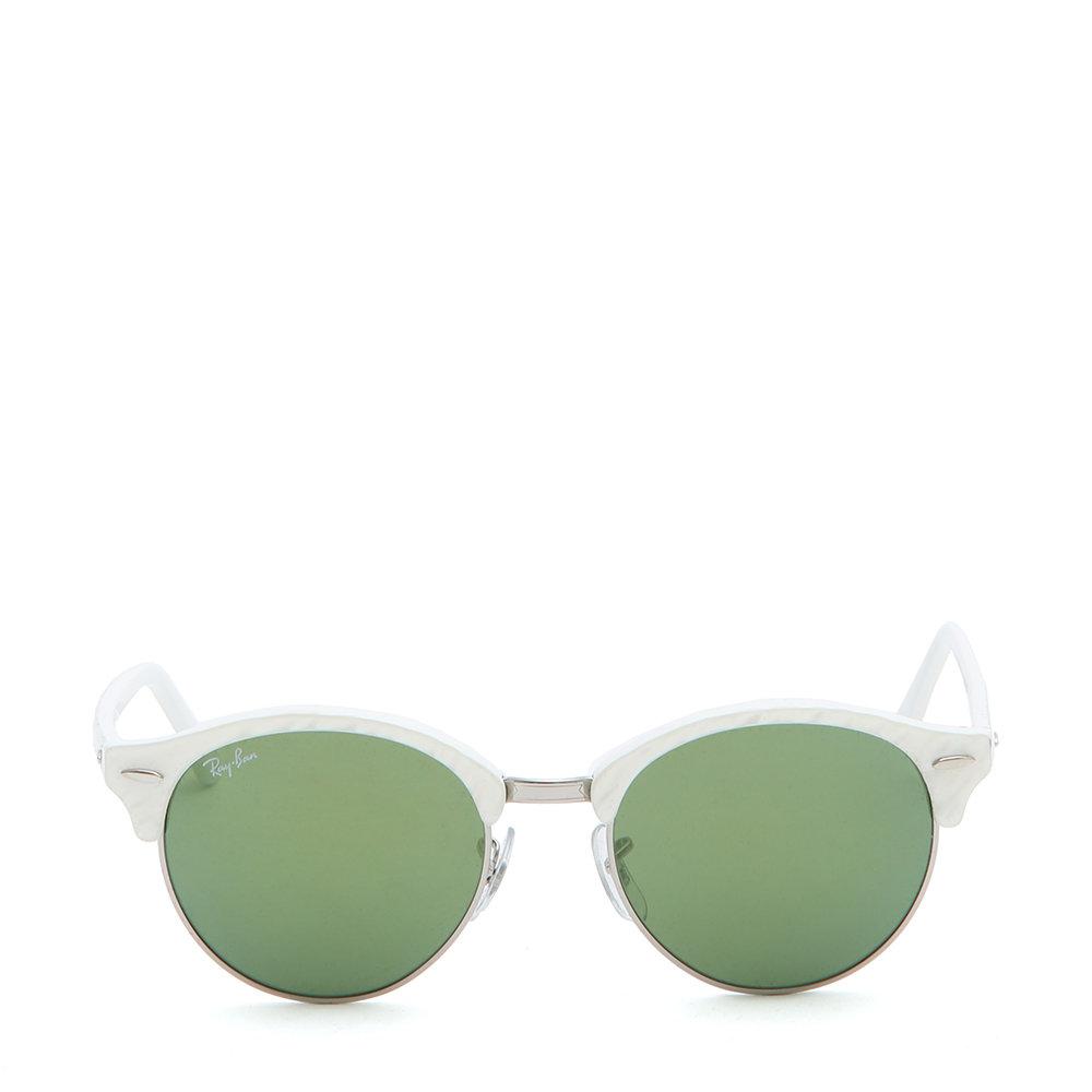 occhiali ray ban montatura bianca