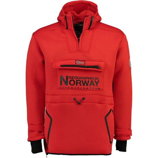 Felpa Gazou grigio scuro Geographical Norway Acquista su Ventis.