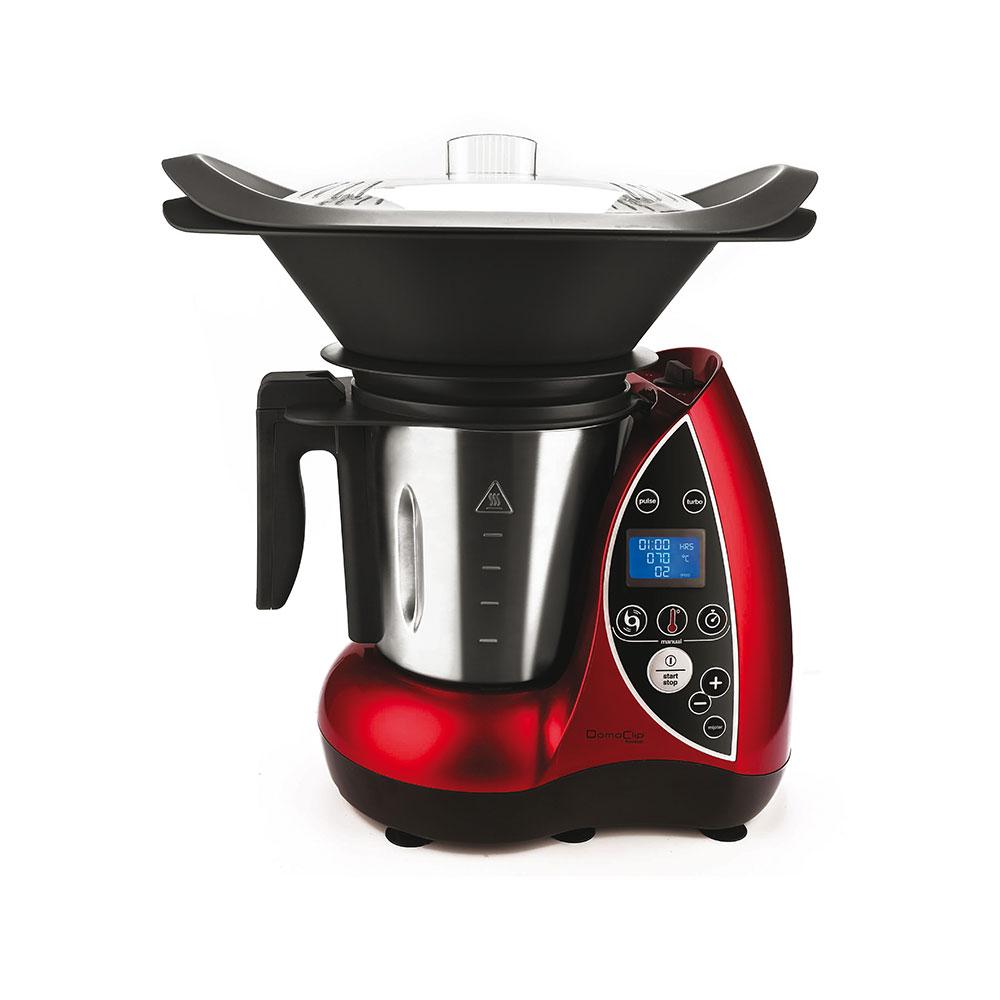 Robot per cucinare tutto in 1 - rosso - Piccoli Elettrodomestici ...