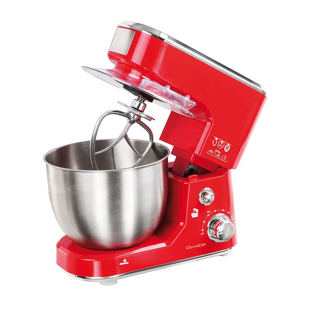 Robot da cucina con frullatore rosso easy home - Robot da cucina con cottura ...
