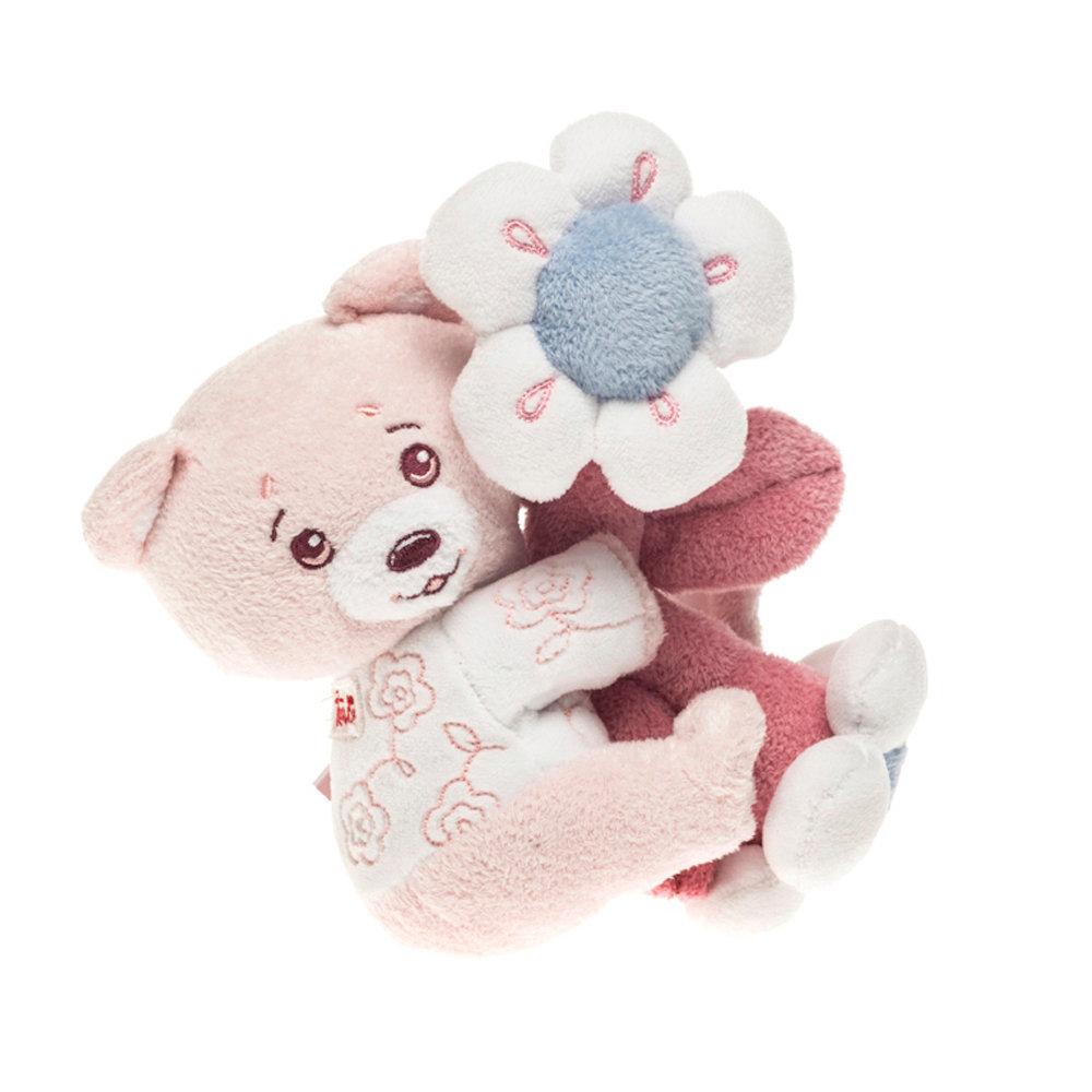 Orsetto rosa con strap - 12+ - Trudi - Acquista su Ventis.