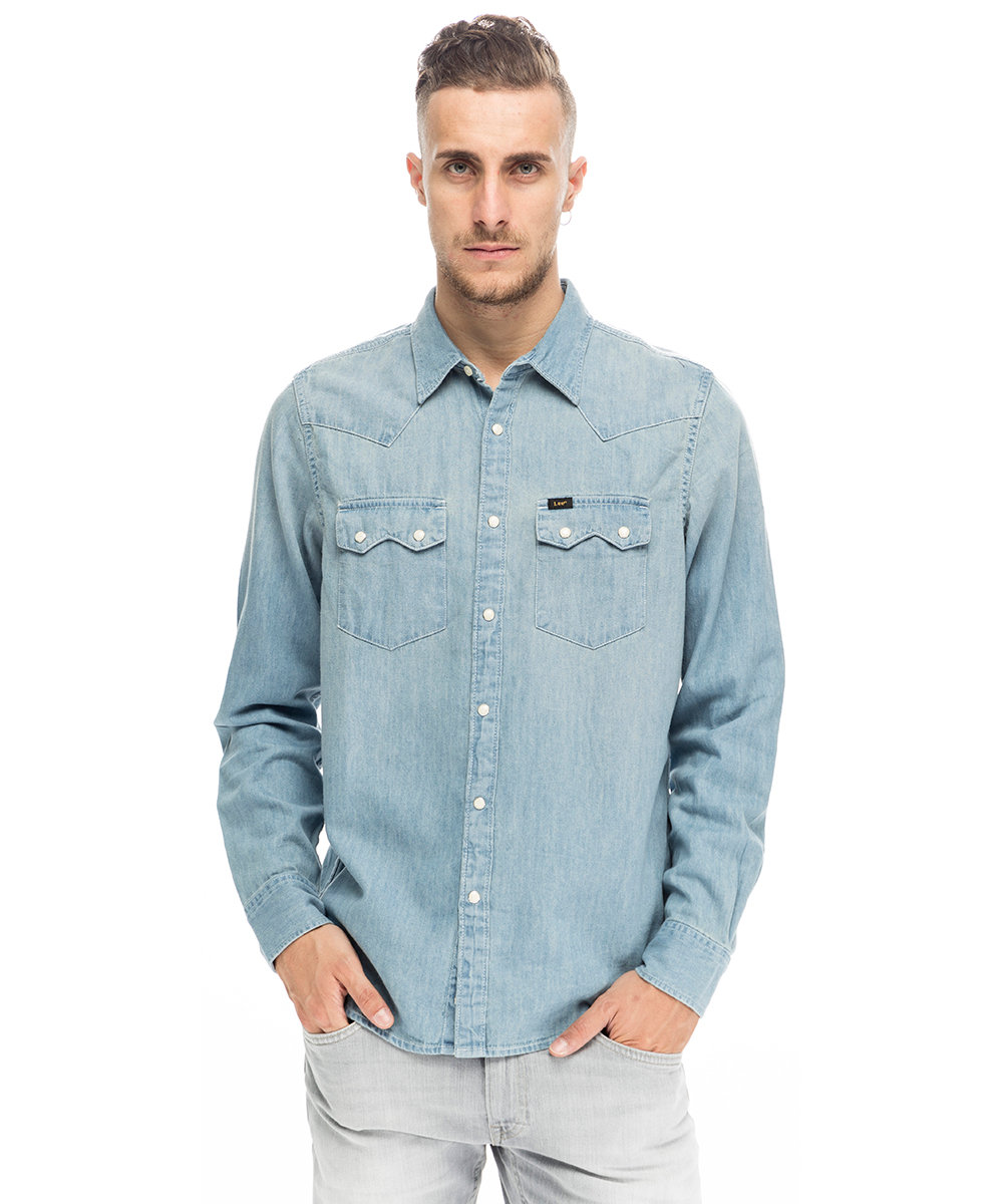 online store 87bdd afad3 Camicia di jeans Lee - Lee - Acquista su Ventis.